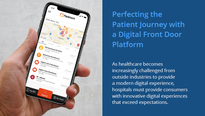 Perfecting the patient journey image with text